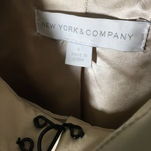 New York & Company Jackets & Coats - New York & Company Trench Coat